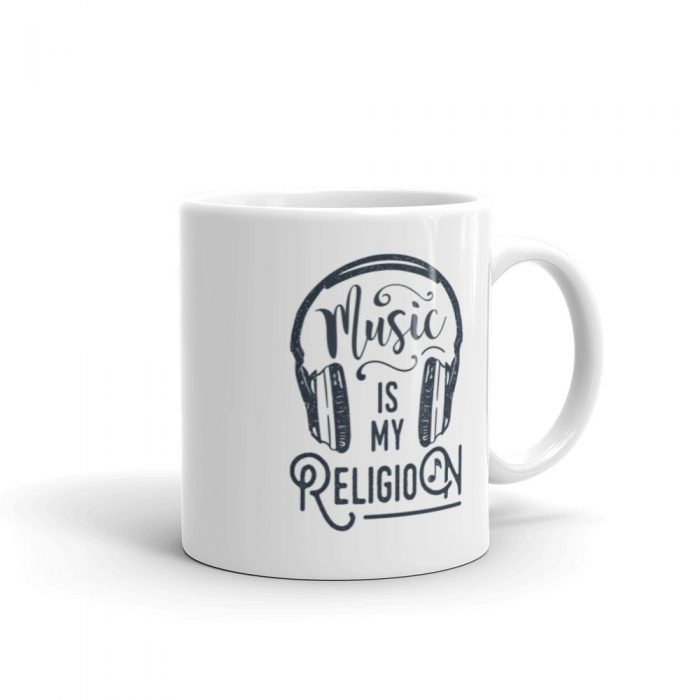 Music is my Religion Mug