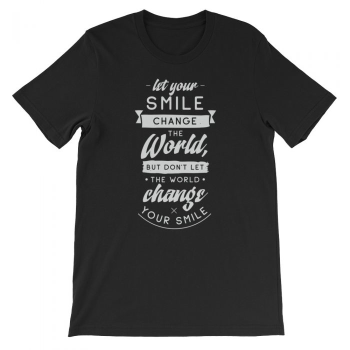 Smile Short-Sleeve Unisex T-Shirt