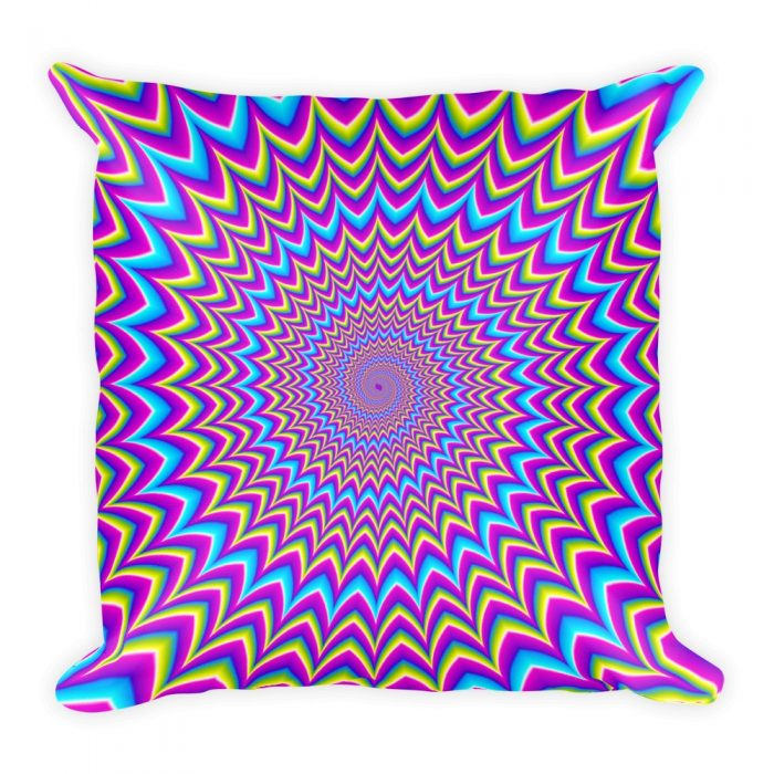 Optical Illusion Pillow