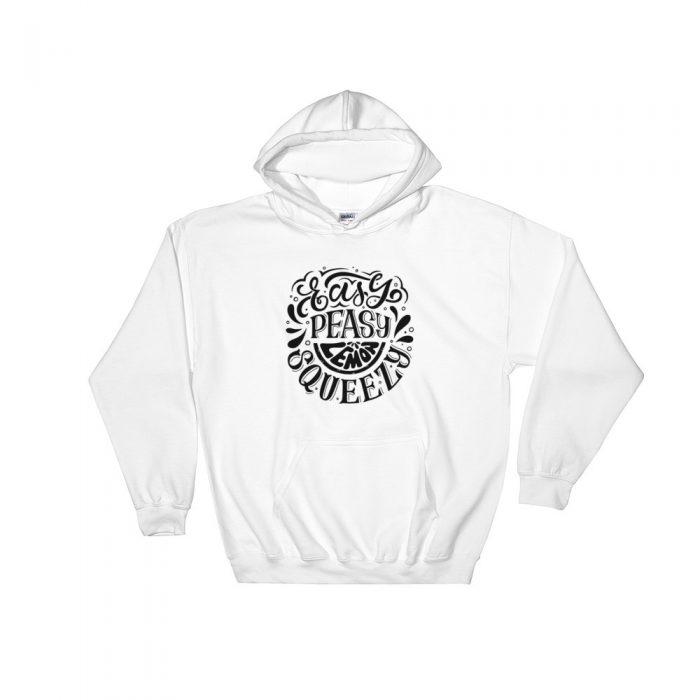 Easy Peasy Hooded Sweatshirt