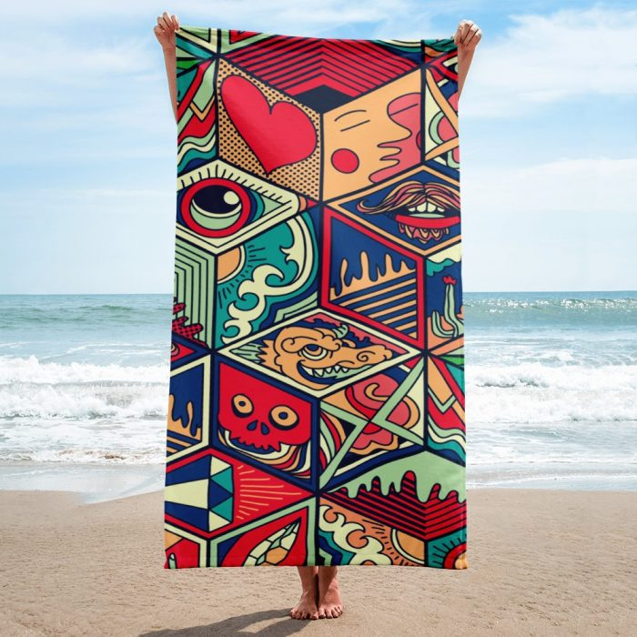 Abstract Towel