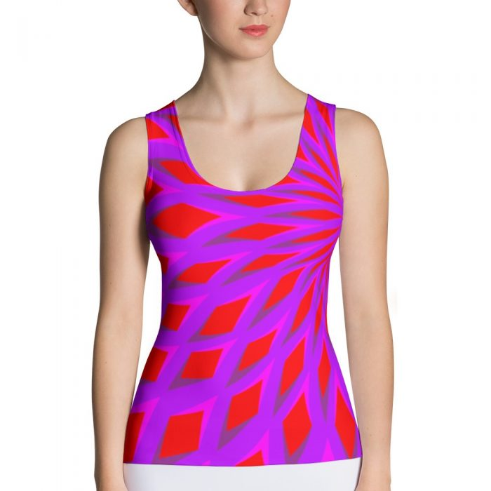 Optical Illusion Tank Top