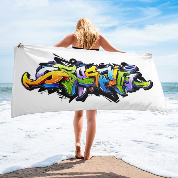 Graffiti Towel