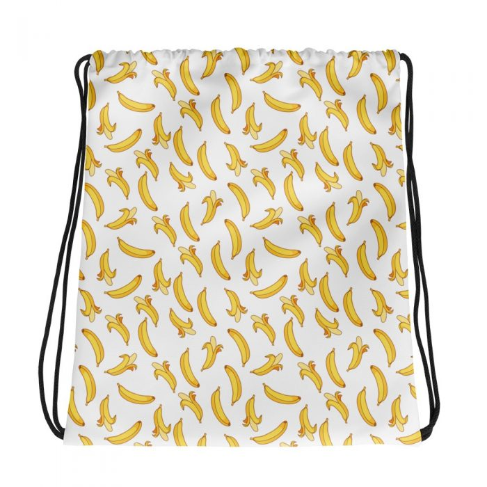 Banana Pattern Drawstring bag
