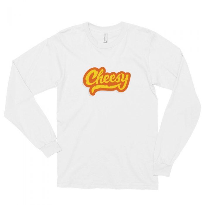 Cheesy Long sleeve t-shirt (unisex)