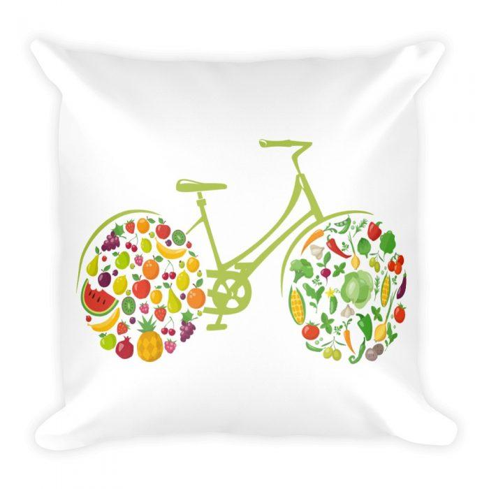Fruit Bicycle Pillow