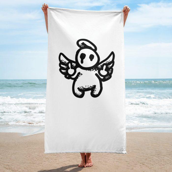Graffiti Crown Pattern Towel