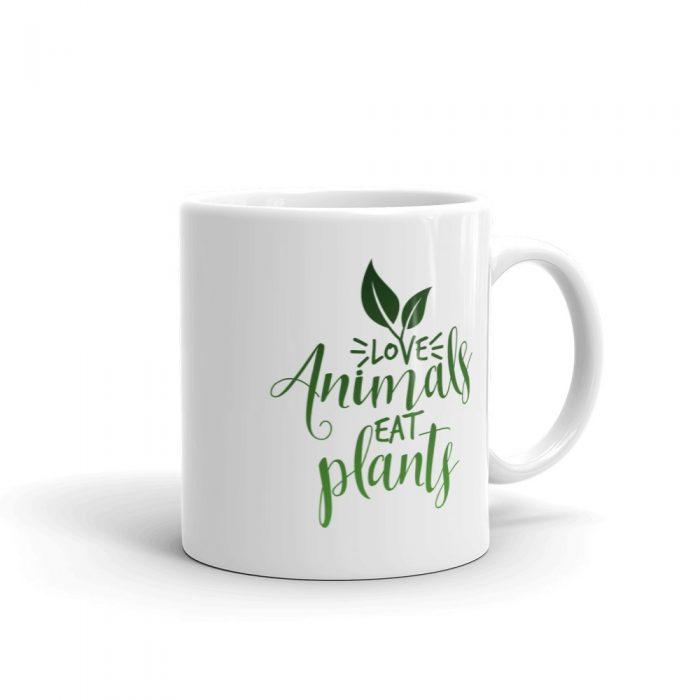 Love Animals Eat Plants Mug