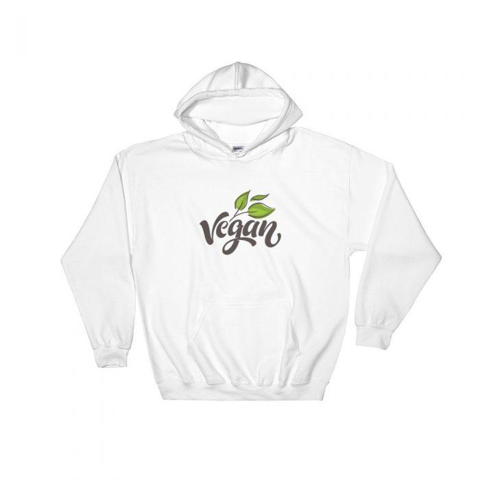 Vegan Hooded Sweatshirt