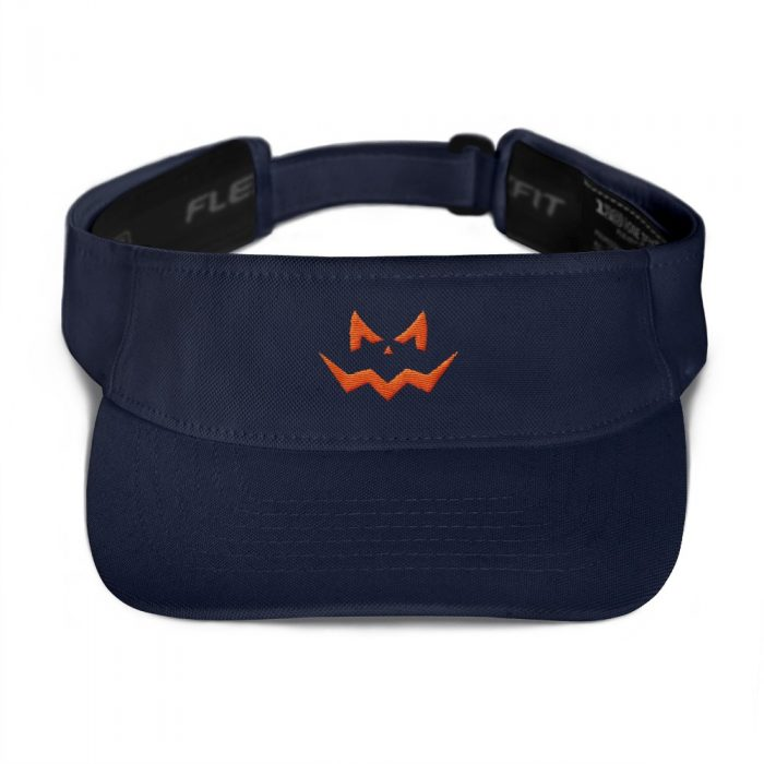 Evil Smile Orange Visor