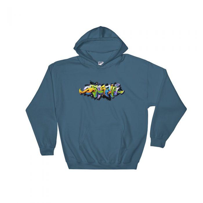 Graffiti Hooded Sweatshirt