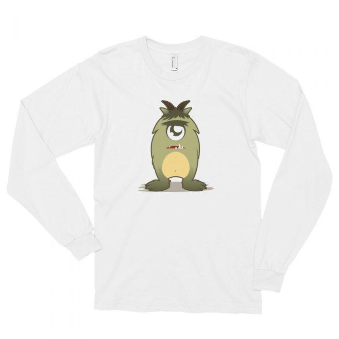 Cartoon Monster Long sleeve t-shirt (unisex)