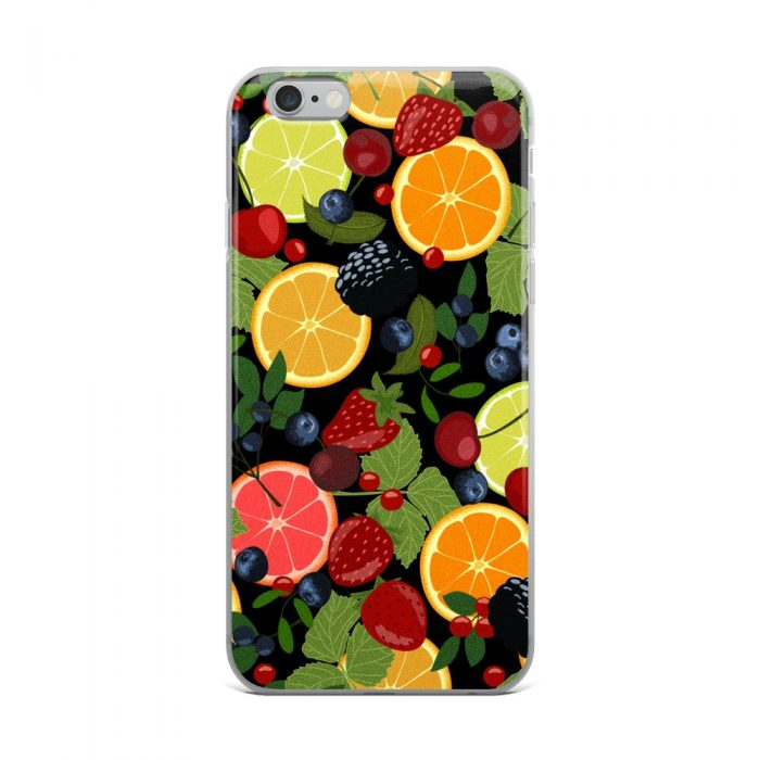 Fruits and Berries iPhone Case