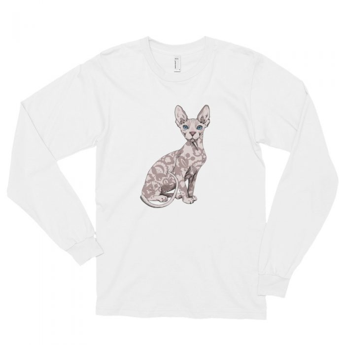 Sphynx Cat Long sleeve t-shirt (unisex)