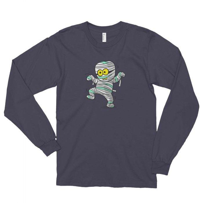 Cartoon Mummy Long sleeve t-shirt (unisex)