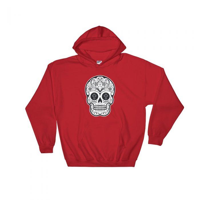 Mexican Skull Hooded Sweatshirt