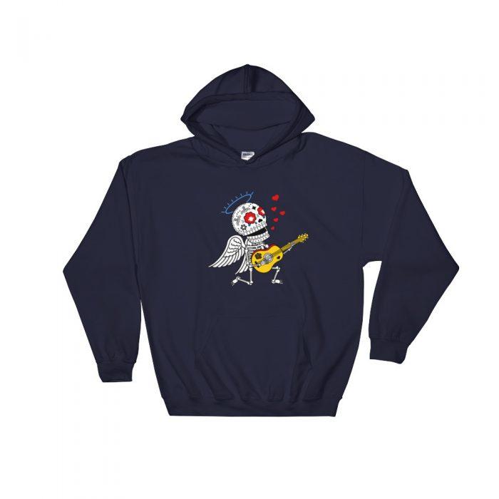 Romantic Skeleton Hooded Sweatshirt