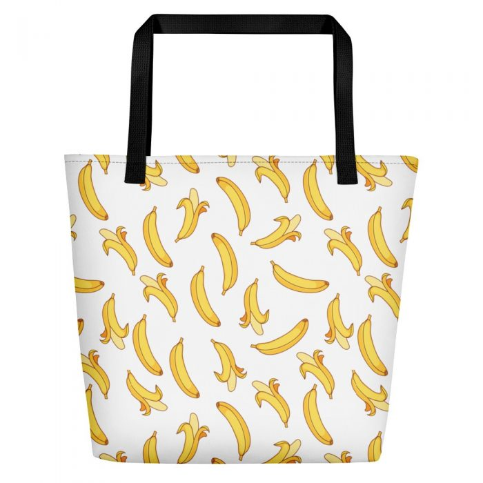 Banana Pattern Beach Bag