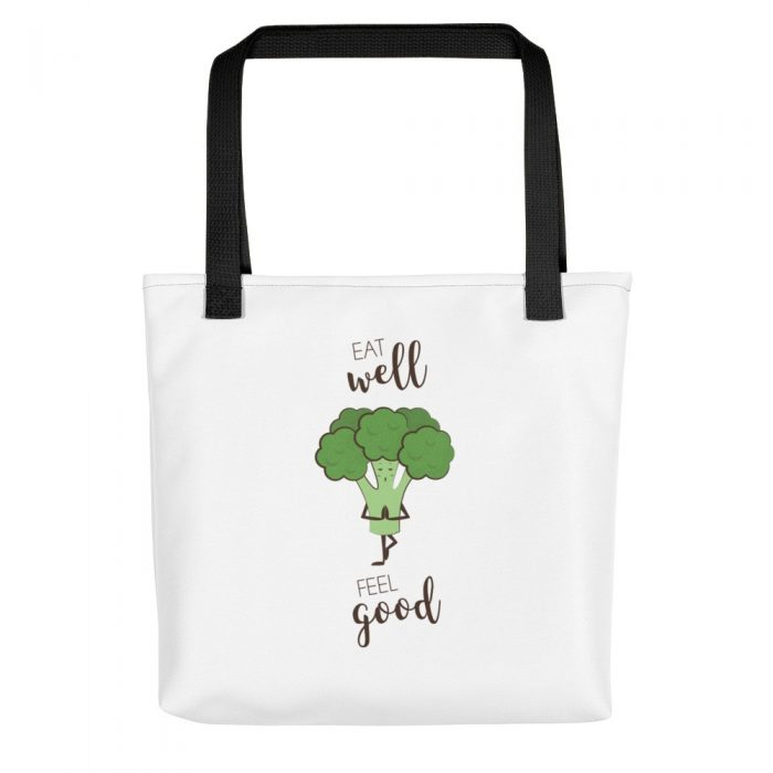 Broccoli Yoga Tote bag