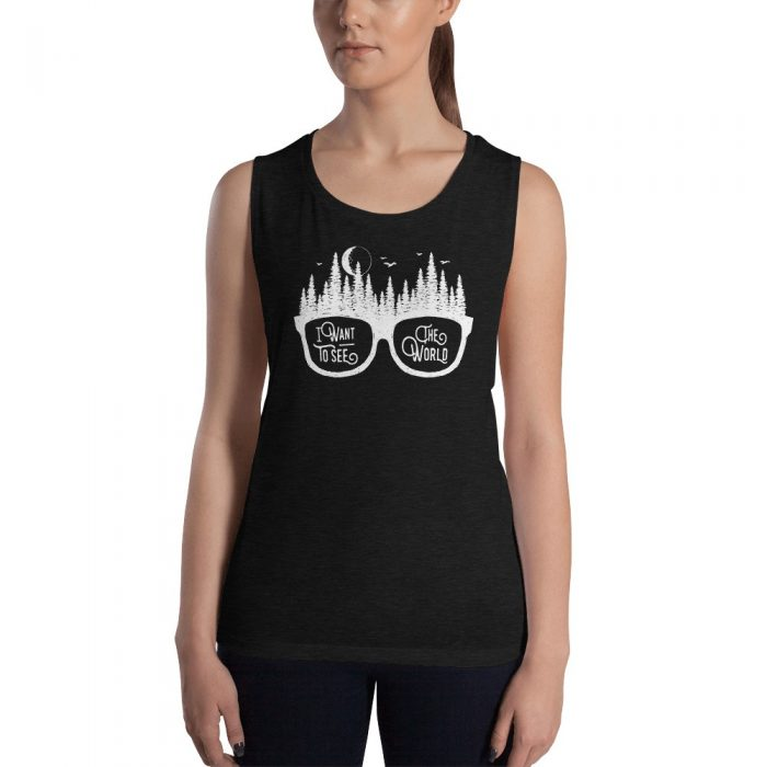 See the World Ladies' Muscle Tank