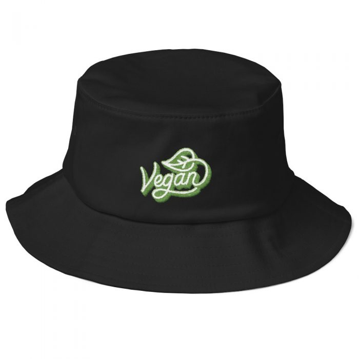 Vegan Old School Bucket Hat
