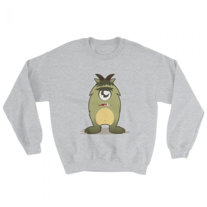 Cartoon Monster Sweatshirt