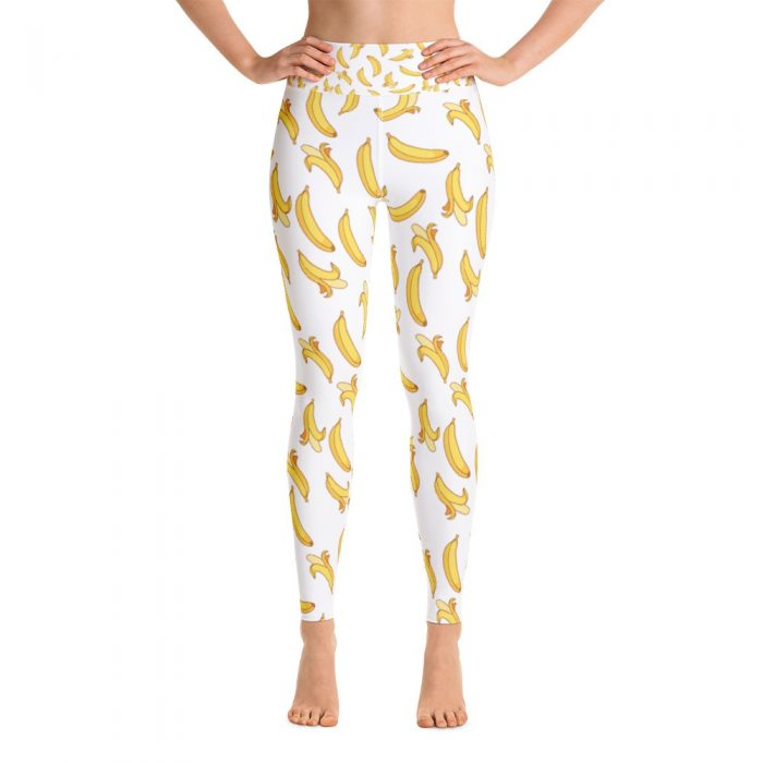 Banana Pattern Yoga Leggings