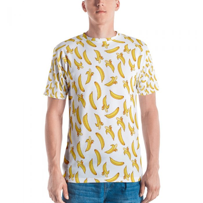 Banana Pattern Men's T-shirt