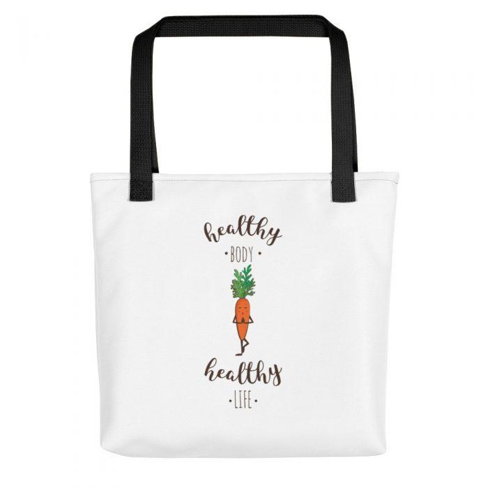 Yoga Carrot Tote bag