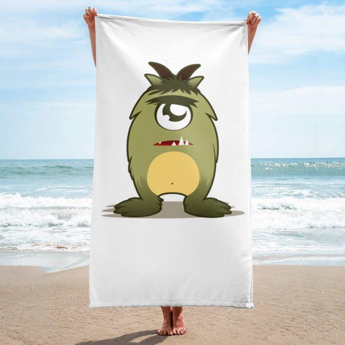 Cartoon Monster Towel
