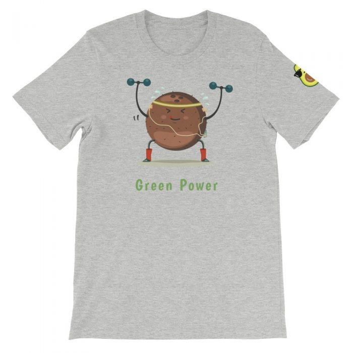 Coconut Athlete Short-Sleeve Unisex T-Shirt