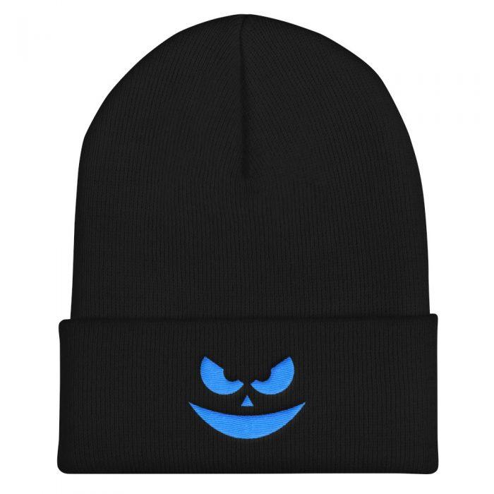 Evil Smile Cuffed Beanie