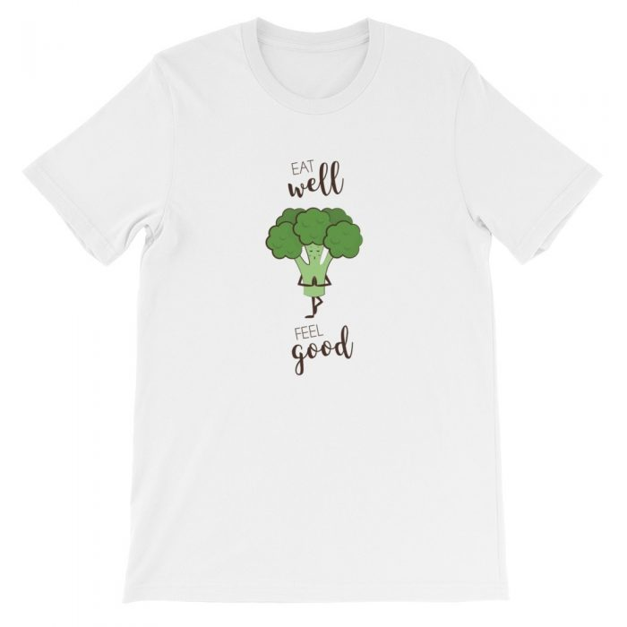 Broccoli Feel Good Short-Sleeve Unisex T-Shirt
