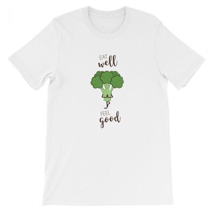 Broccoli Feel Good Short-Sleeve Unisex T-Shirt