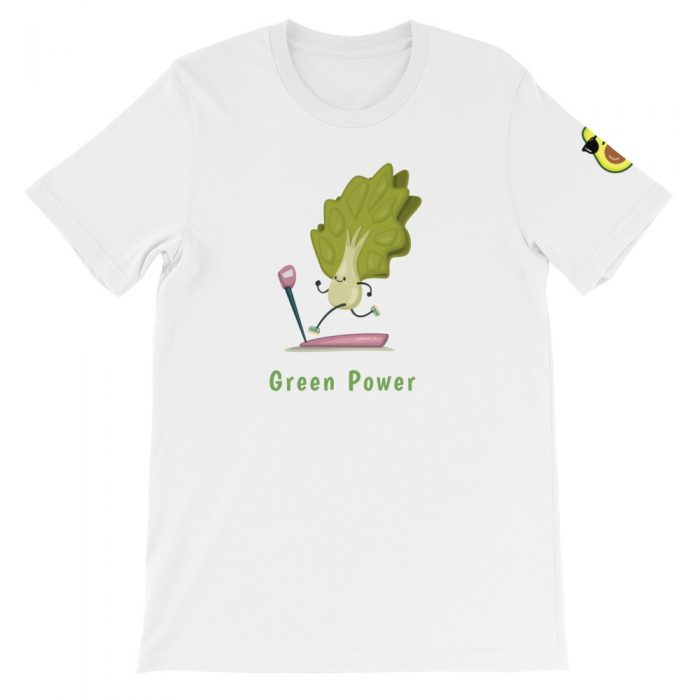 Luttuce Runner Short-Sleeve Unisex T-Shirt