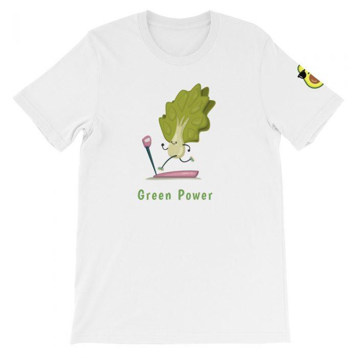 Luttuce Runner Short-Sleeve Unisex T-Shirt