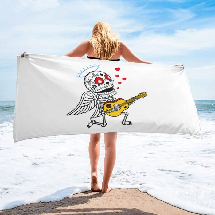 Romantic Skeleton Towel
