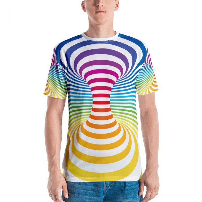 Optical Illusion Men's T-shirt