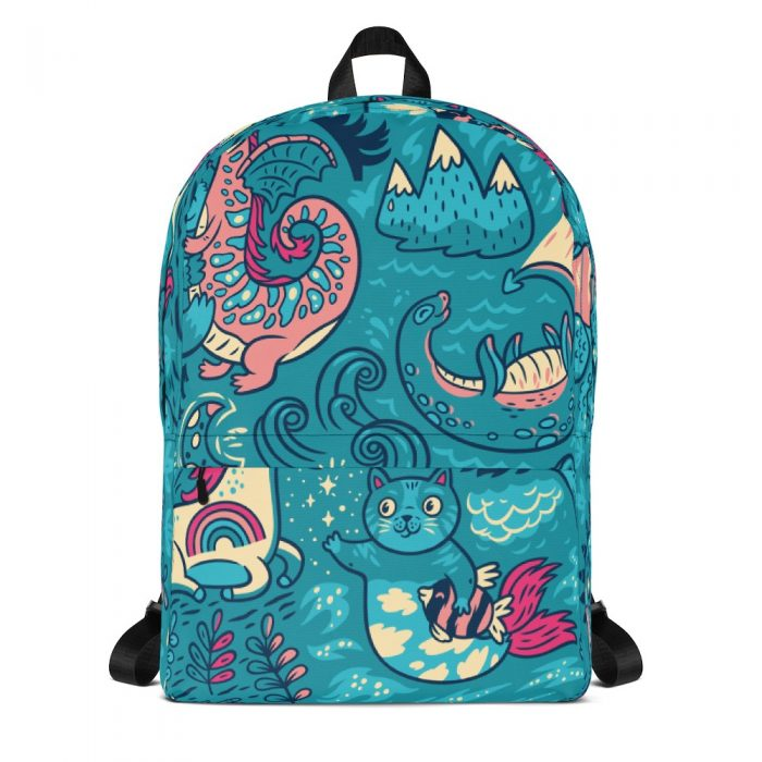 Magic Background Backpack