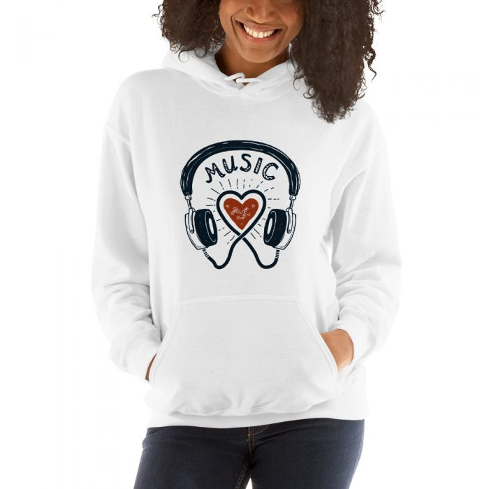 Music Love Hooded Sweatshirt