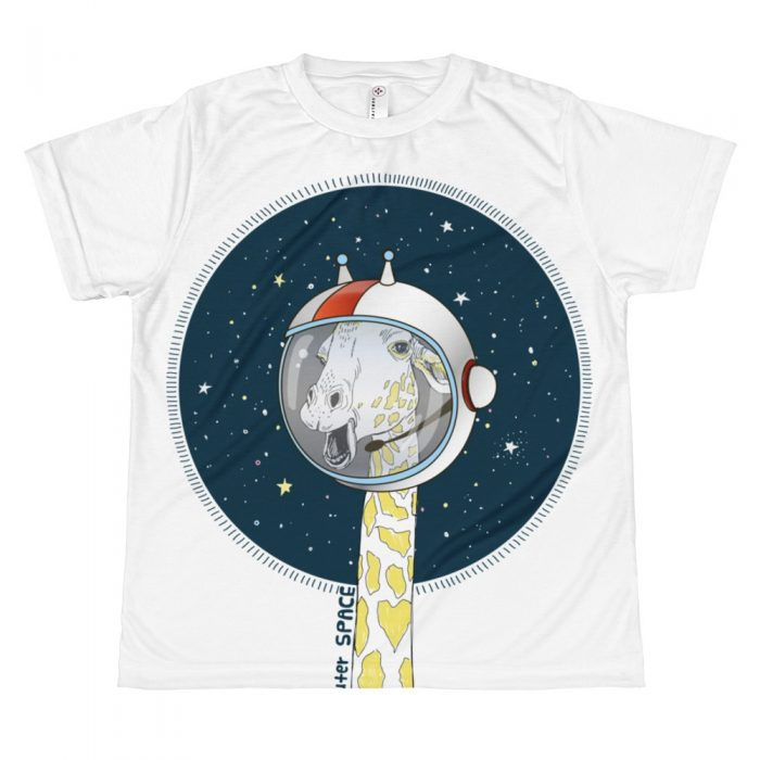 Space Giraffe T-shirt