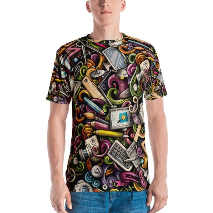Designer Pattern Men's T-shirt