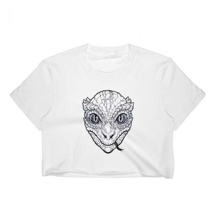 Lizard Women's Crop Top