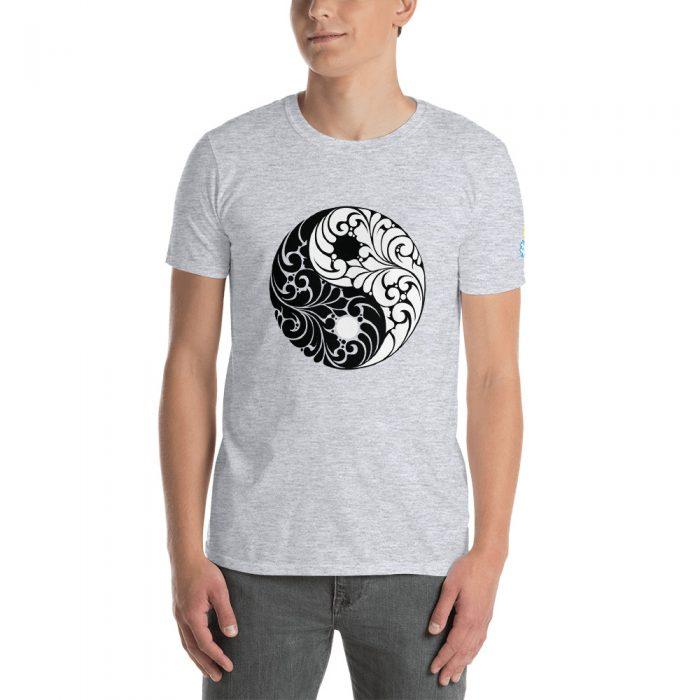 Yin Yang Short-Sleeve Unisex T-Shirt