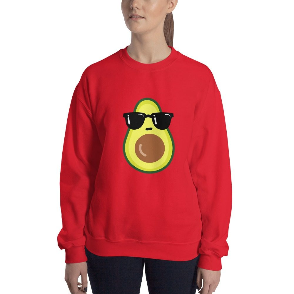 Cool Avocado Vegan Sweatshirt