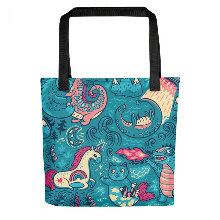 Magic Background Tote bag