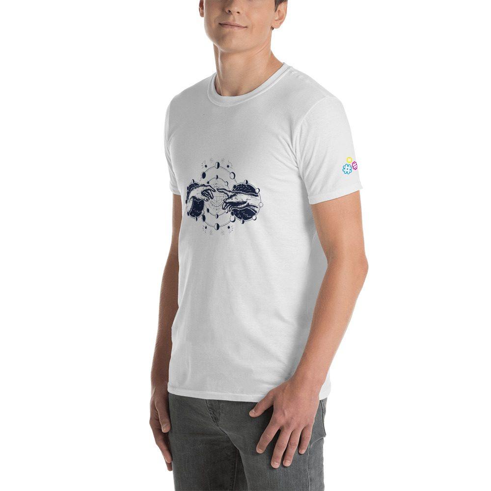 Hands Planets Short-Sleeve Unisex T-Shirt