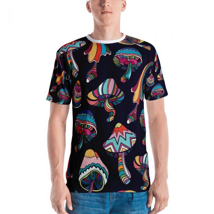 Mushroom Pattern Men's T-shirt