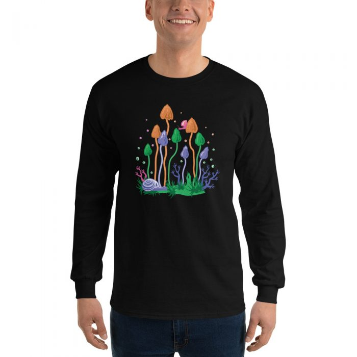Magic Mushrooms Long Sleeve T-Shirt