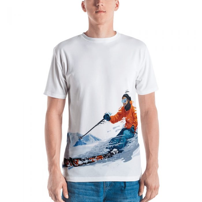 Skier Men's T-shirt